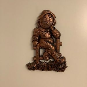 Copper Wall Plaque Bobs Merrill Co Raggedy Andy